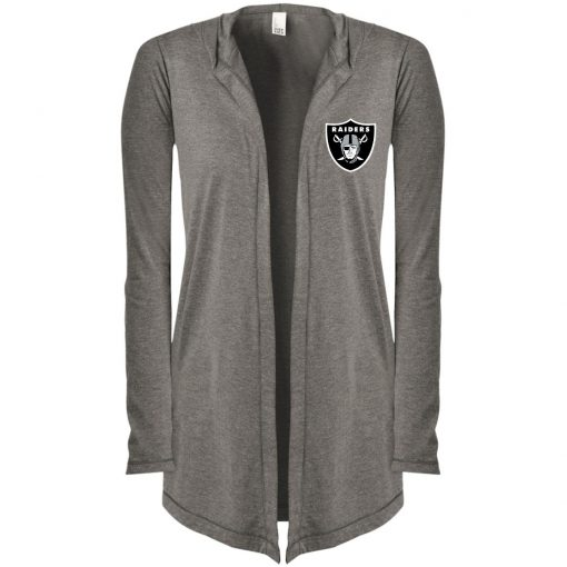 Private: Oakland Raiders Women's Hooded Cardigan