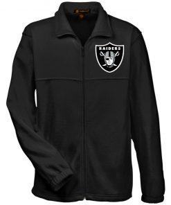 Private: Oakland Raiders Fleece Full-Zip