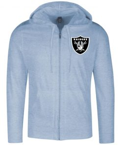 Private: Oakland Raiders Lightweight Full Zip Hoodie