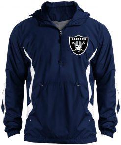 Private: Oakland Raiders Unisex Colorblock Raglan Anorak