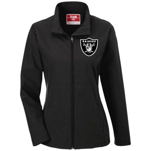Private: Oakland Raiders Ladies' Soft Shell Jacket