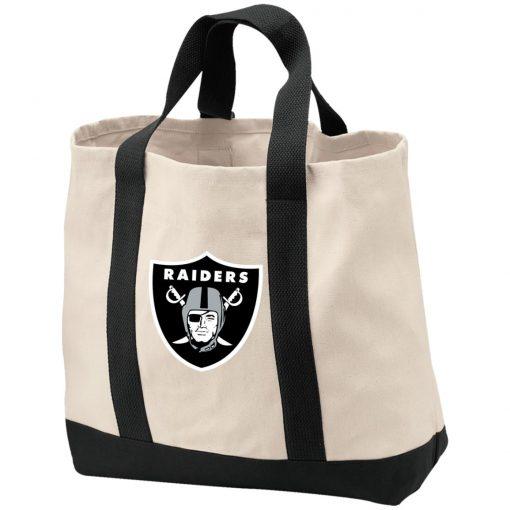 Private: Oakland Raiders 2-Tone Shopping Tote