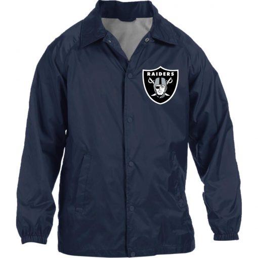Private: Oakland Raiders Nylon Staff Jacket