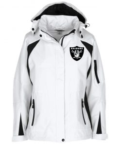 Private: Oakland Raiders Ladies' Embroidered Jacket