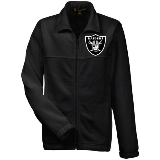 Private: Oakland Raiders Youth Fleece Full Zip