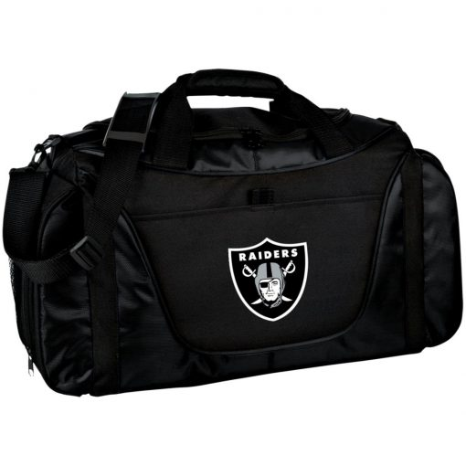 Private: Oakland Raiders Medium Color Block Gear Bag