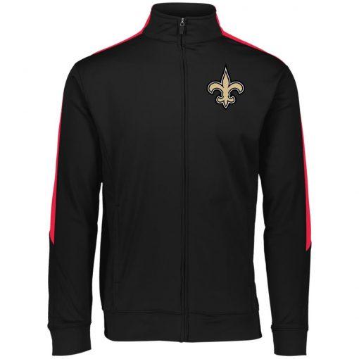 Private: Orleans Saints Performance Colorblock Full Zip