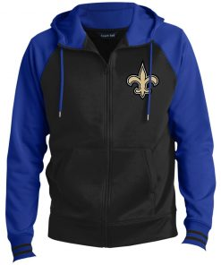 Private: Orleans Saints Men's Sport-Wick® Full-Zip Hooded Jacket