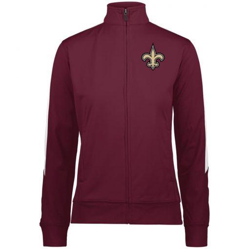 Private: Orleans Saints Ladies' Performance Colorblock Full Zip