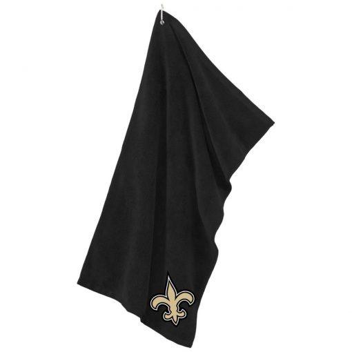 Private: Orleans Saints Microfiber Golf Towel