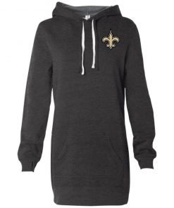 Private: Orleans Saints Women's Hooded Pullover Dress