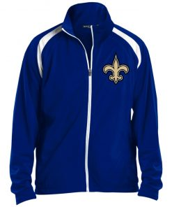 Private: Orleans Saints Men's Raglan Sleeve Warmup Jacket