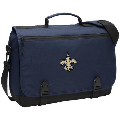 Private: Orleans Saints Messenger Briefcase