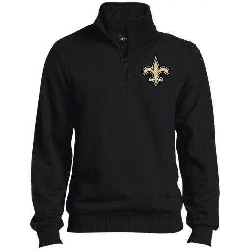 Private: Orleans Saints Tall 1/4 Zip Sweatshirt