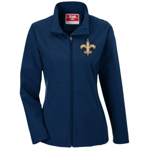 Private: Orleans Saints Ladies' Soft Shell Jacket