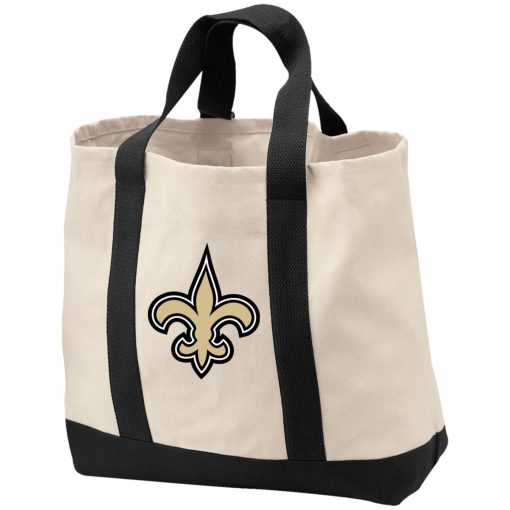 Private: Orleans Saints 2-Tone Shopping Tote