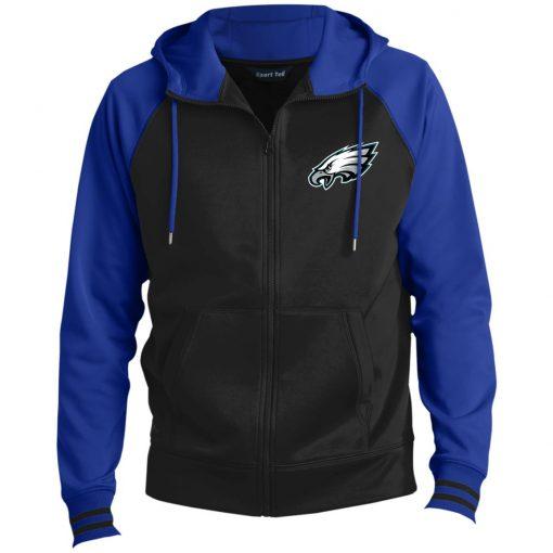 Private: Philadelphia Eagles Men's Sport-Wick® Full-Zip Hooded Jacket