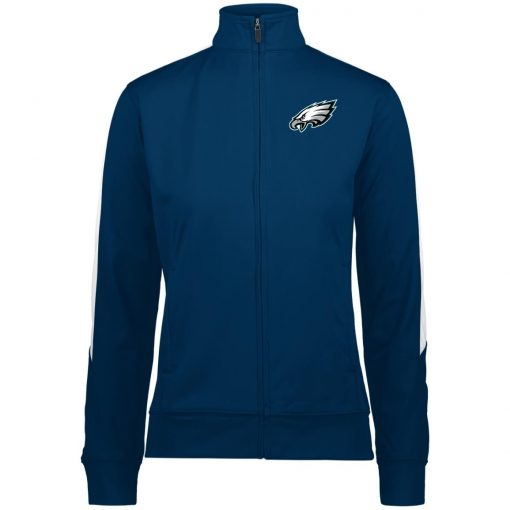 Private: Philadelphia Eagles Ladies' Performance Colorblock Full Zip