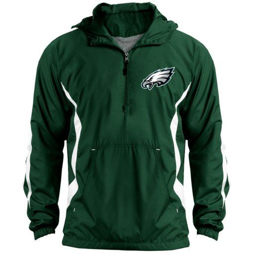 Private: Philadelphia Eagles Unisex Colorblock Raglan Anorak