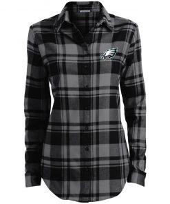 Private: Philadelphia Eagles Ladies' Plaid Flannel Tunic