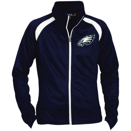 Private: Philadelphia Eagles Ladies' Raglan Sleeve Warmup Jacket
