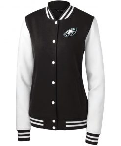 Private: Philadelphia Eagles Women's Fleece Letterman Jacket