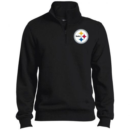 Private: Pittsburgh Steelers Tall 1/4 Zip Sweatshirt