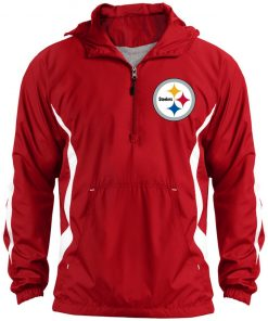 Private: Pittsburgh Steelers Unisex Colorblock Raglan Anorak