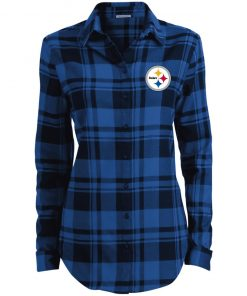 Private: Pittsburgh Steelers Ladies' Plaid Flannel Tunic