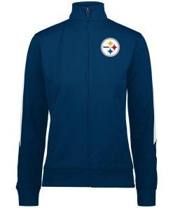 Private: Pittsburgh Steelers Ladies' Performance Colorblock Full Zip