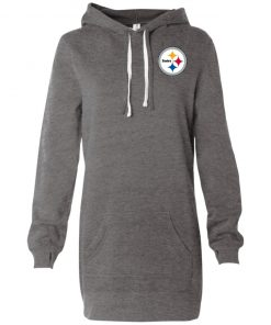 Private: Pittsburgh Steelers Women's Hooded Pullover Dress