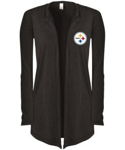 Private: Pittsburgh Steelers Women's Hooded Cardigan
