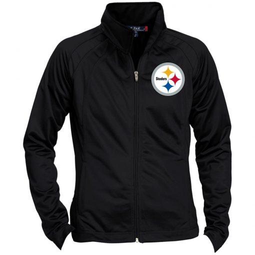 Private: Pittsburgh Steelers Ladies' Raglan Sleeve Warmup Jacket