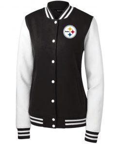 Private: Pittsburgh Steelers Women's Fleece Letterman Jacket