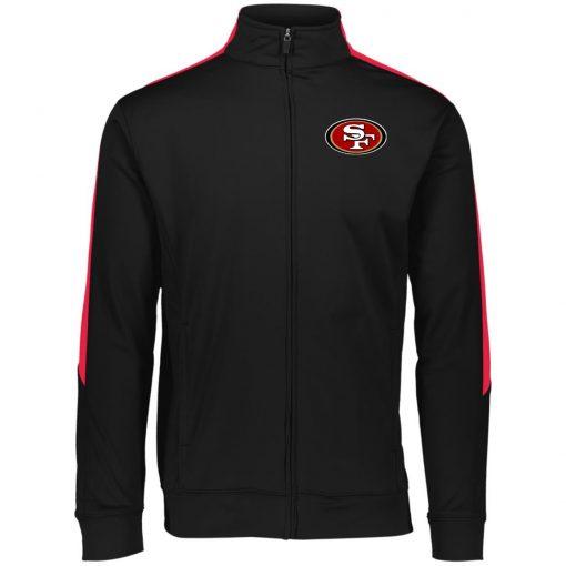 Private: San Francisco 49ers Performance Colorblock Full Zip