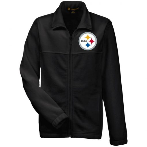 Private: Pittsburgh Steelers Youth Fleece Full Zip