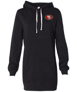 Private: San Francisco 49ers Women's Hooded Pullover Dress