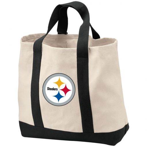 Private: Pittsburgh Steelers 2-Tone Shopping Tote