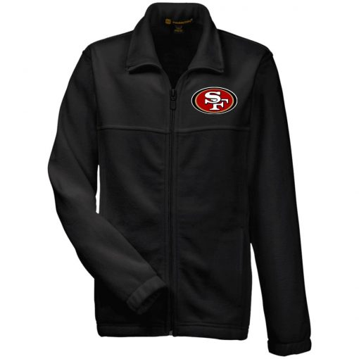 Private: San Francisco 49ers Youth Fleece Full Zip