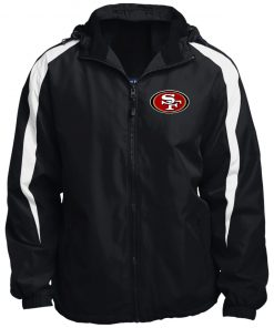 Private: San Francisco 49ers Fleece Lined Colorblocked Hooded Jacket