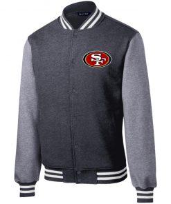 Private: San Francisco 49ers Fleece Letterman Jacket