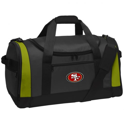 Private: San Francisco 49ers Travel Sports Duffel