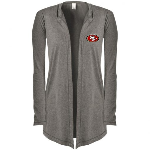 Private: San Francisco 49ers Women's Hooded Cardigan