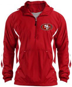 Private: San Francisco 49ers Unisex Colorblock Raglan Anorak