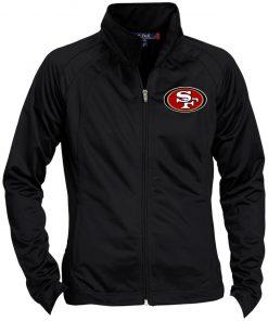 Private: San Francisco 49ers Ladies' Raglan Sleeve Warmup Jacket