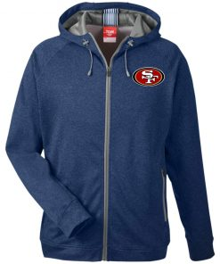 Private: San Francisco 49ers Men's Heathered Performance Hooded Jacket