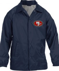 Private: San Francisco 49ers Nylon Staff Jacket