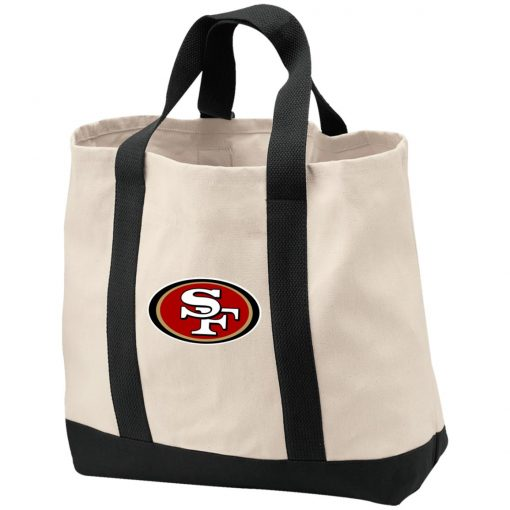 Private: San Francisco 49ers 2-Tone Shopping Tote