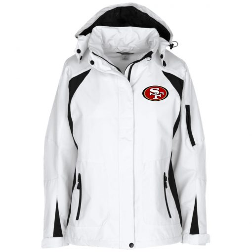 Private: San Francisco 49ers Ladies' Embroidered Jacket