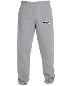 Private: Seattle Seahawks NFL Pro Line Gray Victory Sweatpants with Pockets
